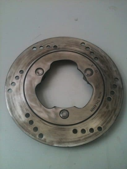 Moto brake disc trivet