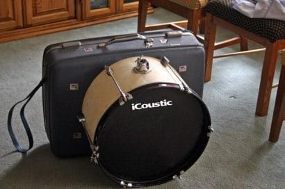 Suitcase Drumset