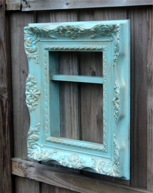 The Savvy Shopper in diy accessories  with Wood wall art Vintage Upcycled Reused Recycled Mirror Insect home decor display cabinet