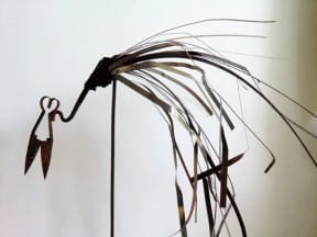 LasArt // recycled metal sculpture
