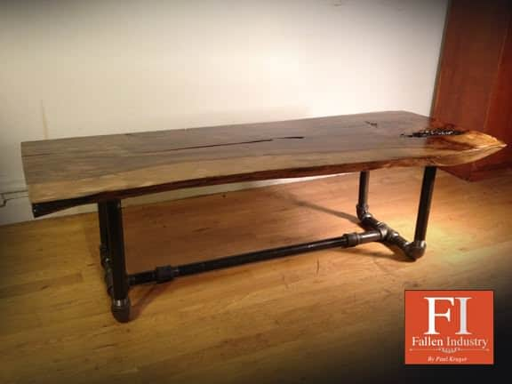 The Edge 2 Fallen Industry   Furniture made from fallen trees in wood furniture  with Wood / organic Tree Recycled organic