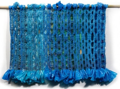 Weaving with Plastic