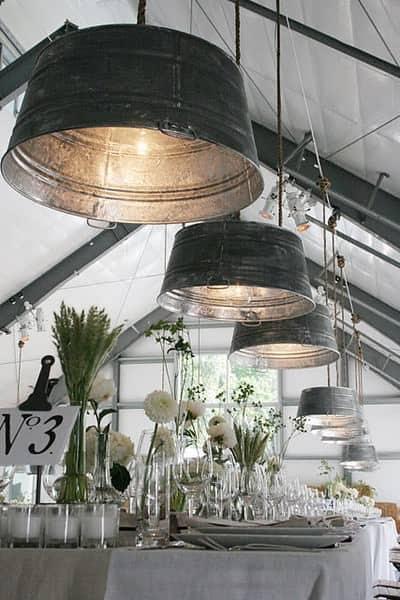 Tub Lighting Lamps & Lights Recycling Metal