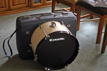 Suitcase Drumset
