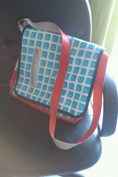 Bag from Inflatable Swimming Pool