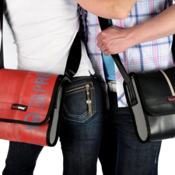 Bags & Accessoires Made From Recycled Firefighter Hose