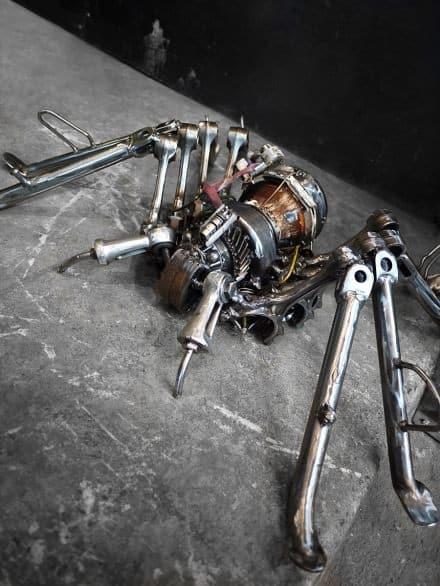Amazing recycled metal arts