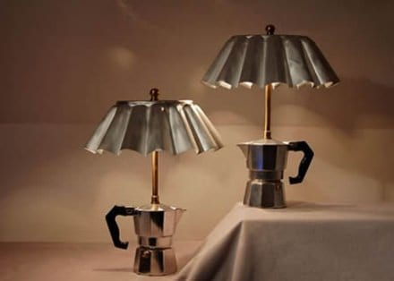 Coffee maker lamp