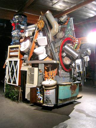 Wastehouse: a Public Art Piece for Vancouver Science Museum Interactive, Happening & Street Art Recycled Art