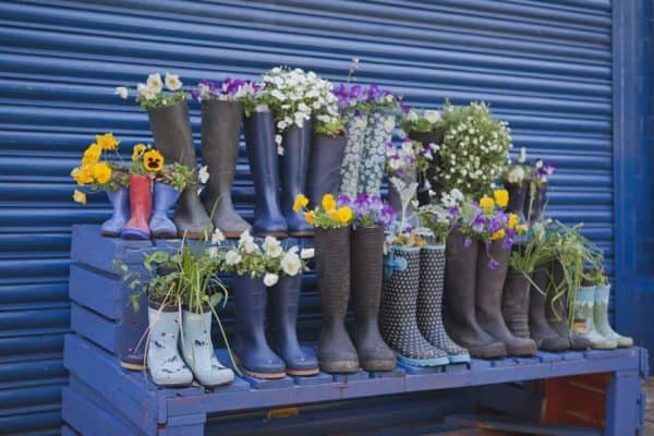 Welly Road Get the Boot in Accessories Do-It-Yourself Ideas Interactive, Happening & Street Art Recycled Plastic Wood & Organic