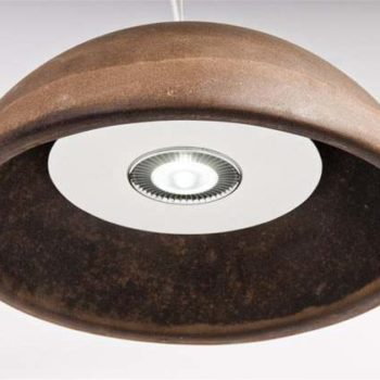 Coffee ground table lamps