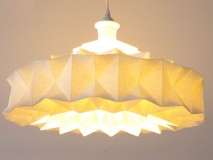 Lamp from Wall Paper