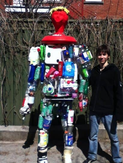 K-8 the Recycled Man