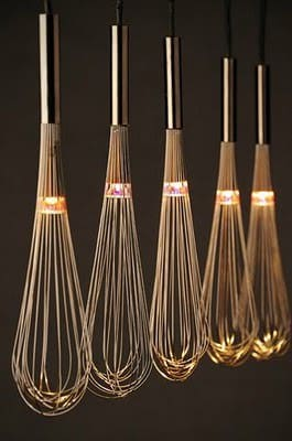 Lights from Kitchen & Household Items Do-It-Yourself Ideas Lamps & Lights