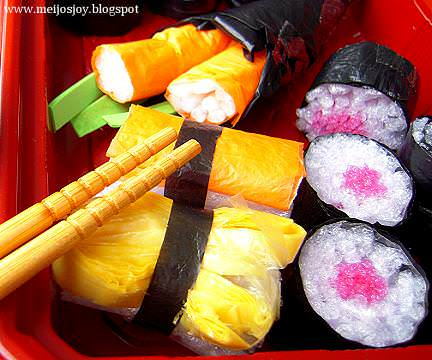sushi23 DIY Gourmet Play   Sushi from Groceries Packaging in packagings diy  with Toy sushi Kid Easy DIY cheap 