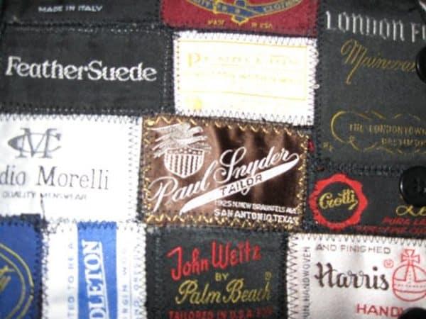 Label Vest Clothing