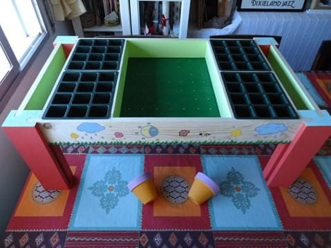 Rachel´s Seedbed Do-It-Yourself Ideas Recycled Pallets