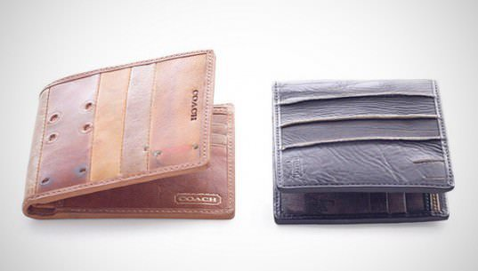 Old Baseball Gloves Upcycled Into Fashion Wallets Accessories Recycled Sports Equipment