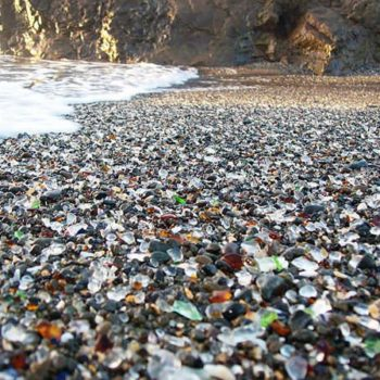 Glass beach - California