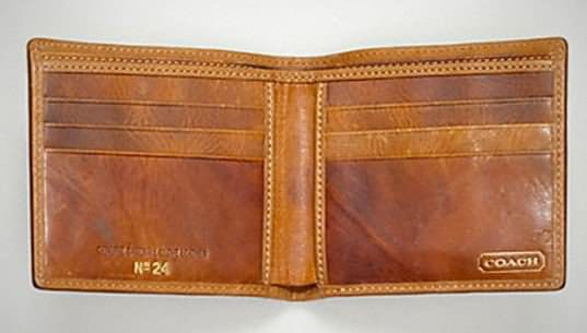 coach heritage baseball 2 759 Baseball gloves wallets in wood diy  with Wallet leather Glove Baseball
