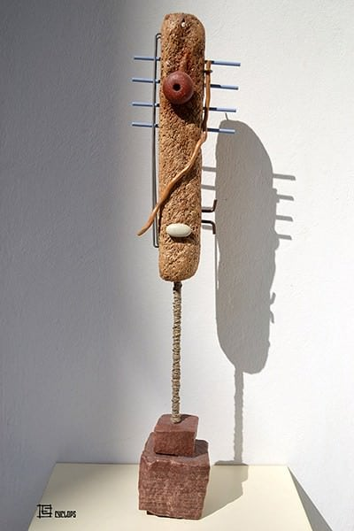 Recycle Art Using Everyday and Found Objects with Their Own Stories. Recycled Art