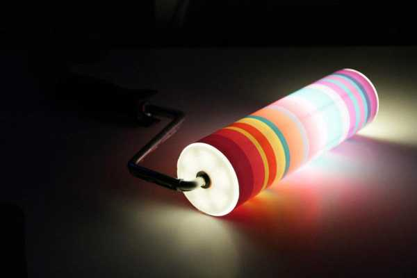 Paint roller lamp Lamps & Lights