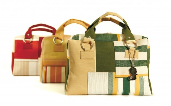 grupo maletin 1 600x373 Recycled bags in accessories  with Recycled Bags