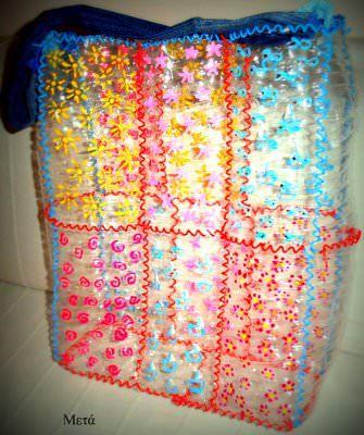 Bottles of water bag
