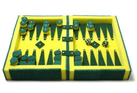 Sponge Backgammon Recycled Art Recycled Packaging Recycled Plastic