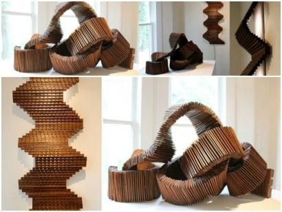 Reclaimed Wood Sculptures