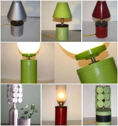 Recycle lamp – Penser Vert