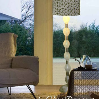 Stunning Table Lamp from plastic bottles