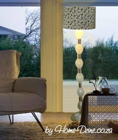Stunning Table Lamp from plastic bottles