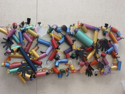 Pipe Piper Recycled Art