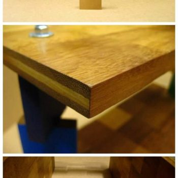 Shelf Made From Upcycled Wooden Pieces