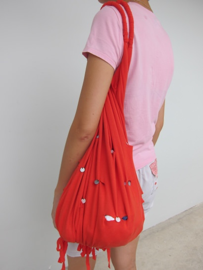 No sew t-shirt bag