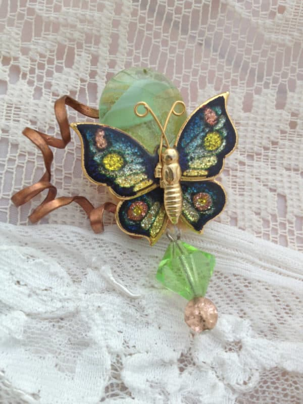 Broken Odds and Ends make Beautiful Jewelry in jewelry accessories  with Vintage Textile Reused Recycled Jewelry design