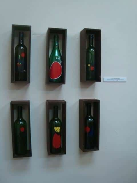 Norim arte sustentable in art  with Recycled Art