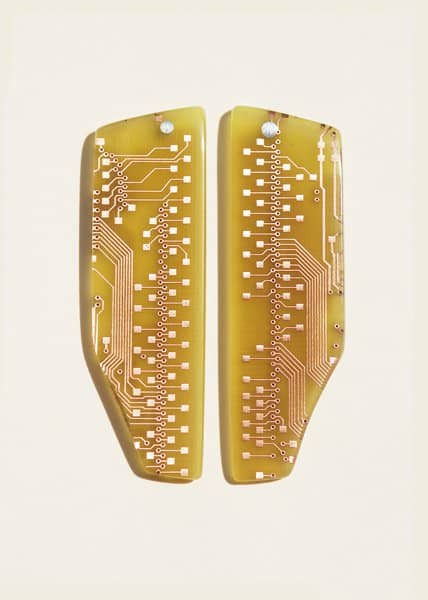 Electronics boards jewels Accessories Upcycled Jewelry Ideas
