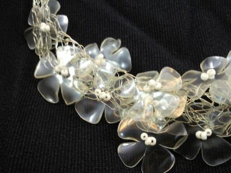 25 09 2012 06 52 39 Recycled plastic bottles necklace in plastics jewelry accessories  with Plastic Necklace Jewelry