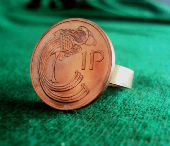 How to recycle olds coins in accessories  with money Jewelry coins