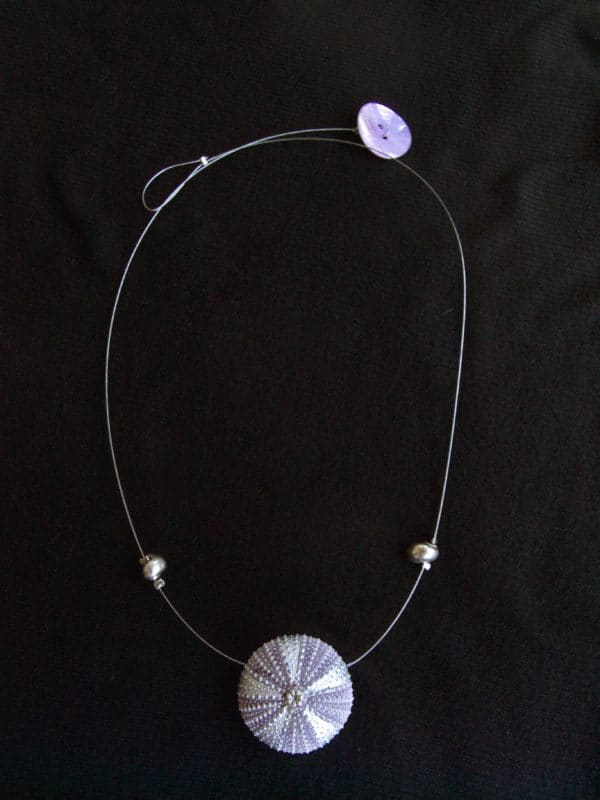 P1010574 600x800 Necklace with sea urchin! in jewelry accessories  with Necklace Jewelry