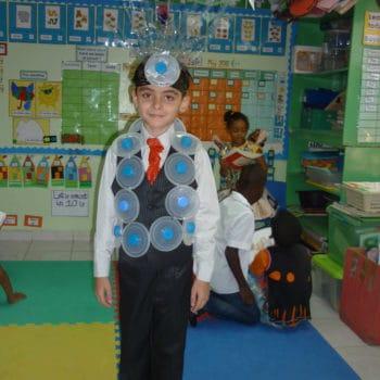 Costume for Trashion show