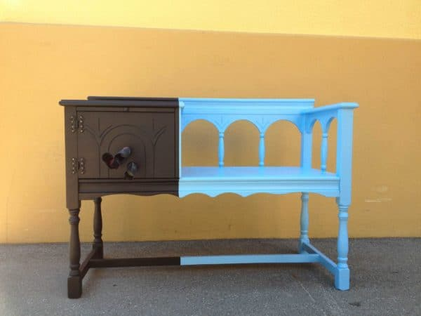 MINE & YOURS – a creative family furniture in furniture diy  with upcycled furniture rack Painting Kid Bench Antique