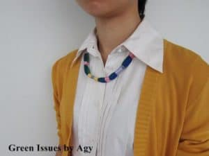 Tribal Necklace from Lanyards