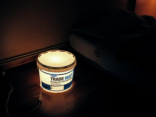 Really simple bucket lamp in packagings lights  with Painting Light bucket