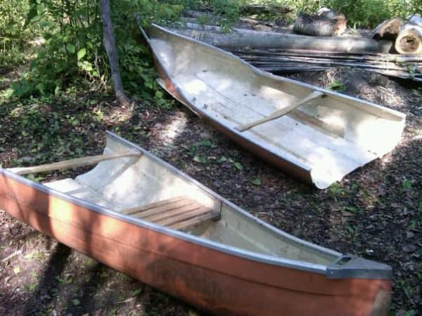 Canoe Turned Into Shelf Mechanic & Friends Recycled Furniture