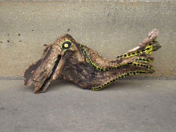 Driftwood Creatures Recycled Art Wood & Organic