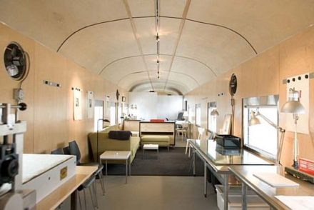 1949 Sleeper Car Converted into Luxurious Home