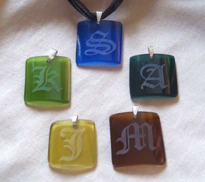 Recycled Wine Bottle Jewelry